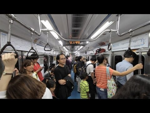 Travel South Korea - Amazing Subway System
