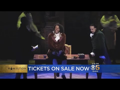 Hamilton Tickets On Sale In San Francisco