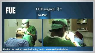 """Hair Transplant Myth """"FUE is a SCARLESS? NON Surgical? NON Invasive ?"""" Medispa India-Dr Suneet Soni"""