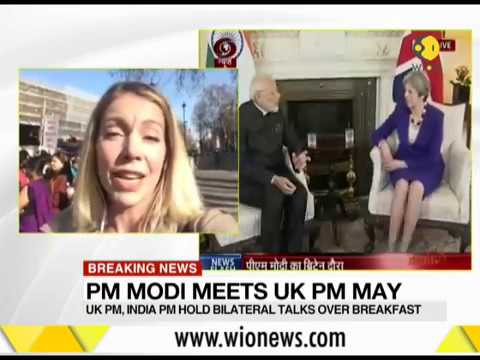 Breaking News: UK PM, Indian PM talk over breakfast