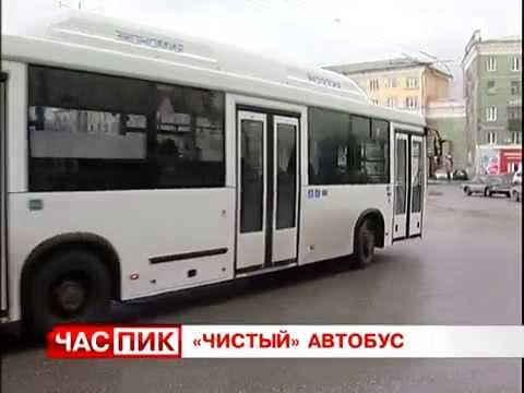 Чистые автобусы в Перми