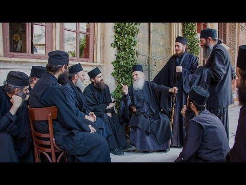 Афонские беседы. Слушать поучения старцев.