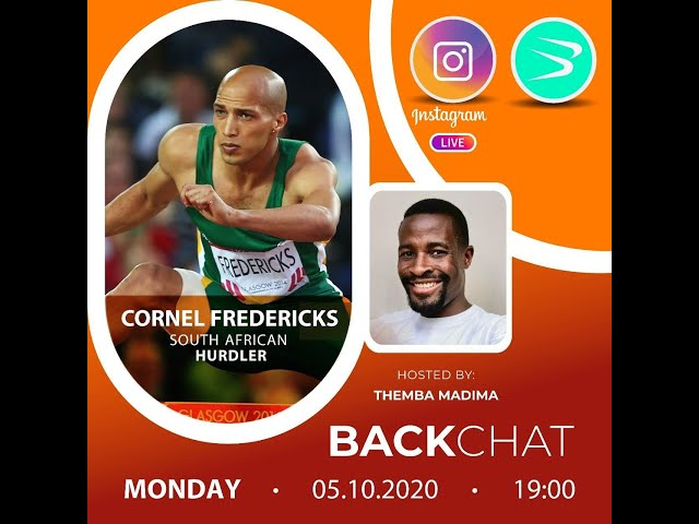 BackChat ep61 with Cornel Fredericks