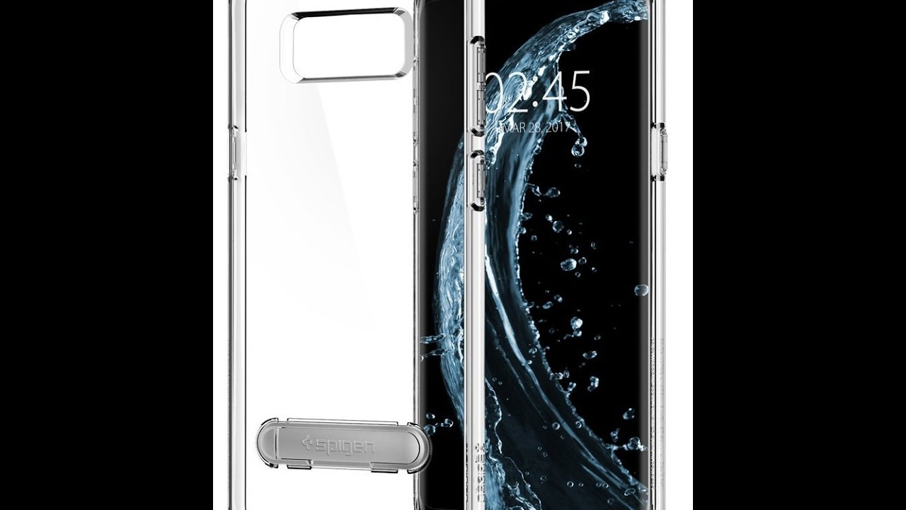 Spigen Ultra Hybrid S Galaxy S8 Plus Case with Air Cushion Technology and Magnetic Metal Kickstand & Spigen Ultra Hybrid S Galaxy S8 Plus Case with Air Cushion ... Pezcame.Com