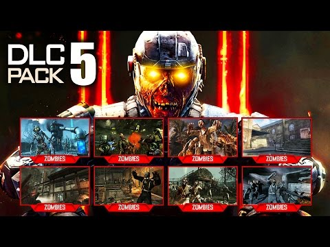 BO3 Zombies DLC 5 / ZOMBIES CHRONICLES: ALL 8 MAPS LEAKED! - ORIGINS & MORE! (Black Ops 3 DLC5)