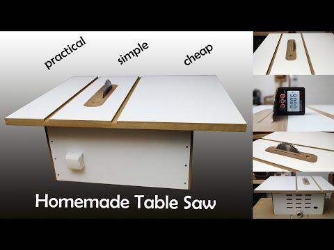 Homemade Table Saw / DIY Table Saw