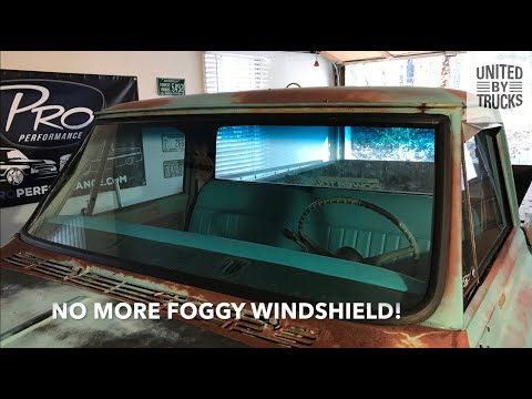 HOW TO: Chevy C10 Windshield Install