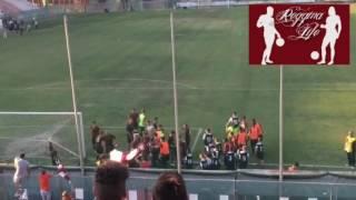 Reggina-Messina 2-0 festa tifosi (04/09/2016)