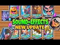 CLASH ROYALE:ALL LEGENDARY CARD+ NEW CARDS -SOUND