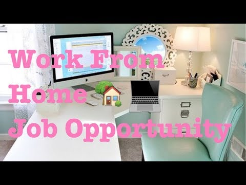 Work From Home 🏡 Job Opportunity