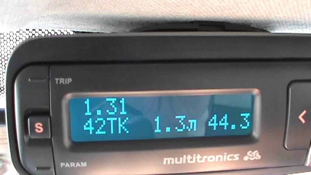 multitronics v55 renault symbol настройка