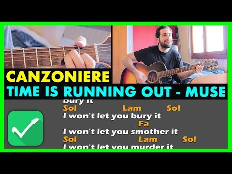 VIDEO CANZONIERE - Time Is Running Out - Muse | Accordi Chitarra e Testo