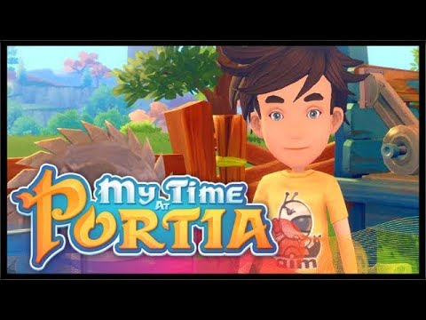 THE TOWN JERK & EXPLORING ABANDONED RUINS!   My Time At Portia   Ep 2
