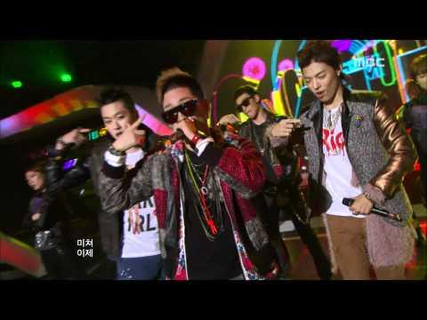 음악중심 - M.I.B - G.D.M 엠아이비 - 지디엠 Music Core 20111112