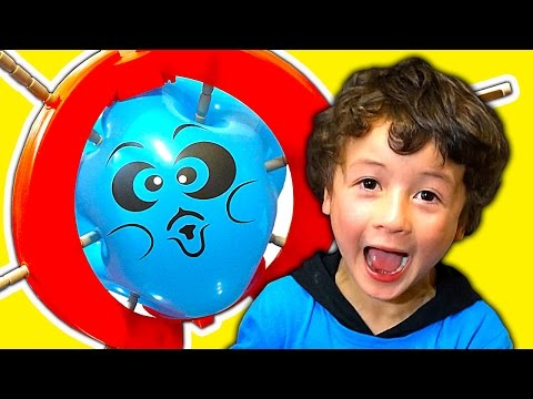 Boom Boom Balloon Explosive Family Fun Raw Toy Review