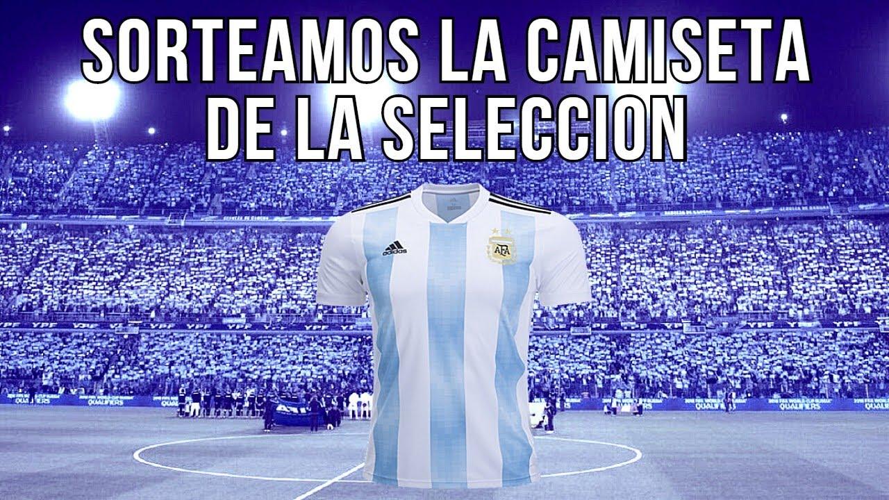 Participá del SORTEO de la Camiseta de la SELECCIÓN ARGENTIN