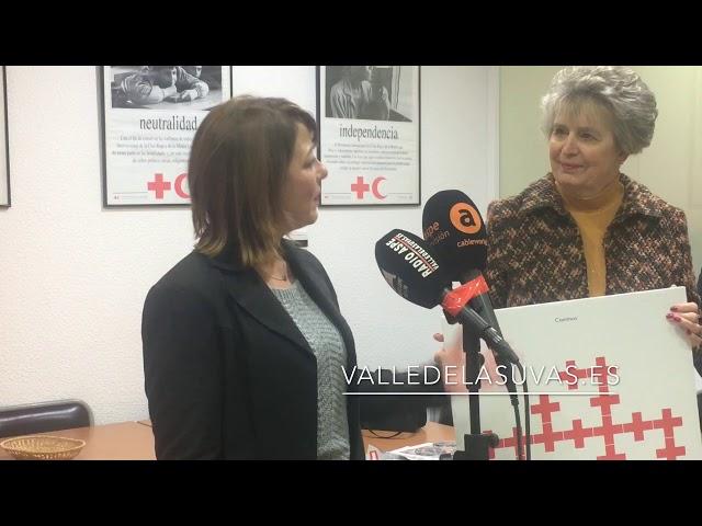 Donación de un desfibrilador a Cruz Roja #Aspe por parte de Malvina Giftshop La Romana