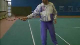 Большой теннис Удар справа