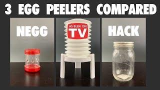 Egg Peeler Showdown! Negg vs Eggstractor vs Hack