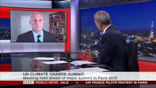 Dan Simmons Discusses the UN Climate Summit