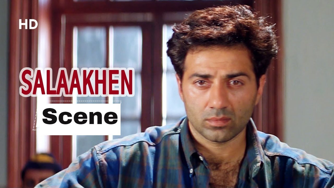 Download Sunny Deol Entry - Angry Sunny Deol Fights In Court - Salaakhen Movie (1998)