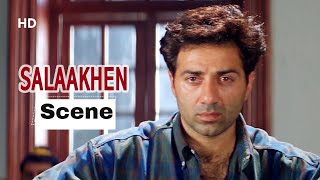 Sunny Deol Entry - Angry Sunny Deol Fights In Court - Salaakhen Movie (1998)