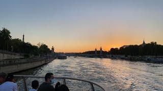 바토 파리지엥 승선! Bateaux parisien
