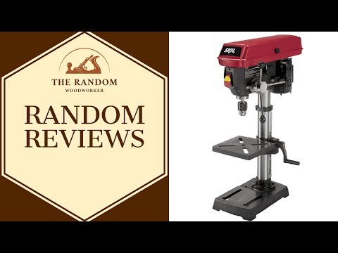 "Skil 10"" Bench Top Drill Press - Random Reviews #3"