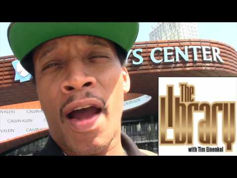 Smif-N-Wessun's General Steele Big Ups The Library