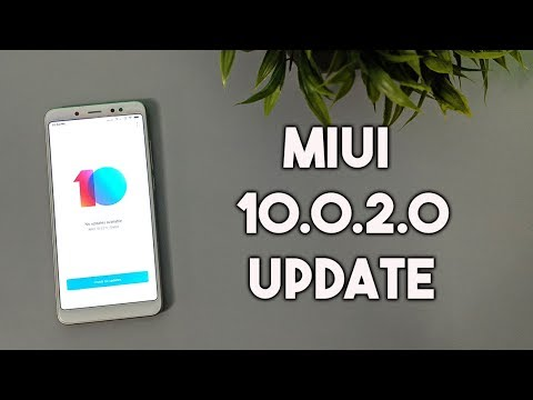 MIUI 10.0.2.0 Update for Redmi Note 5 Pro | Download Now