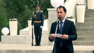 Открытие флагштока в Караганде. Видео(, 2014-06-04T09:09:15.000Z)