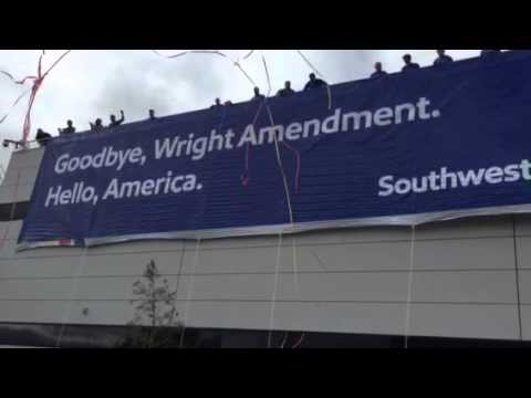 Goodbye Wright Amendment!