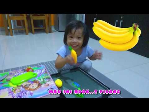 Mainan Buah Potong | Cutting Fruit Toy 🍈🍊🍋🍎🍏🍑