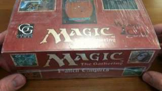 Magic: The Gathering Fallen Empires Booster Box Unboxing