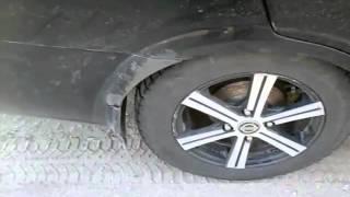 Клинит колесо