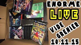 LIVE Vide grenier 11 octobre