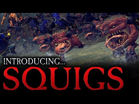 Total War: WARHAMMER - Introducing... Squigs