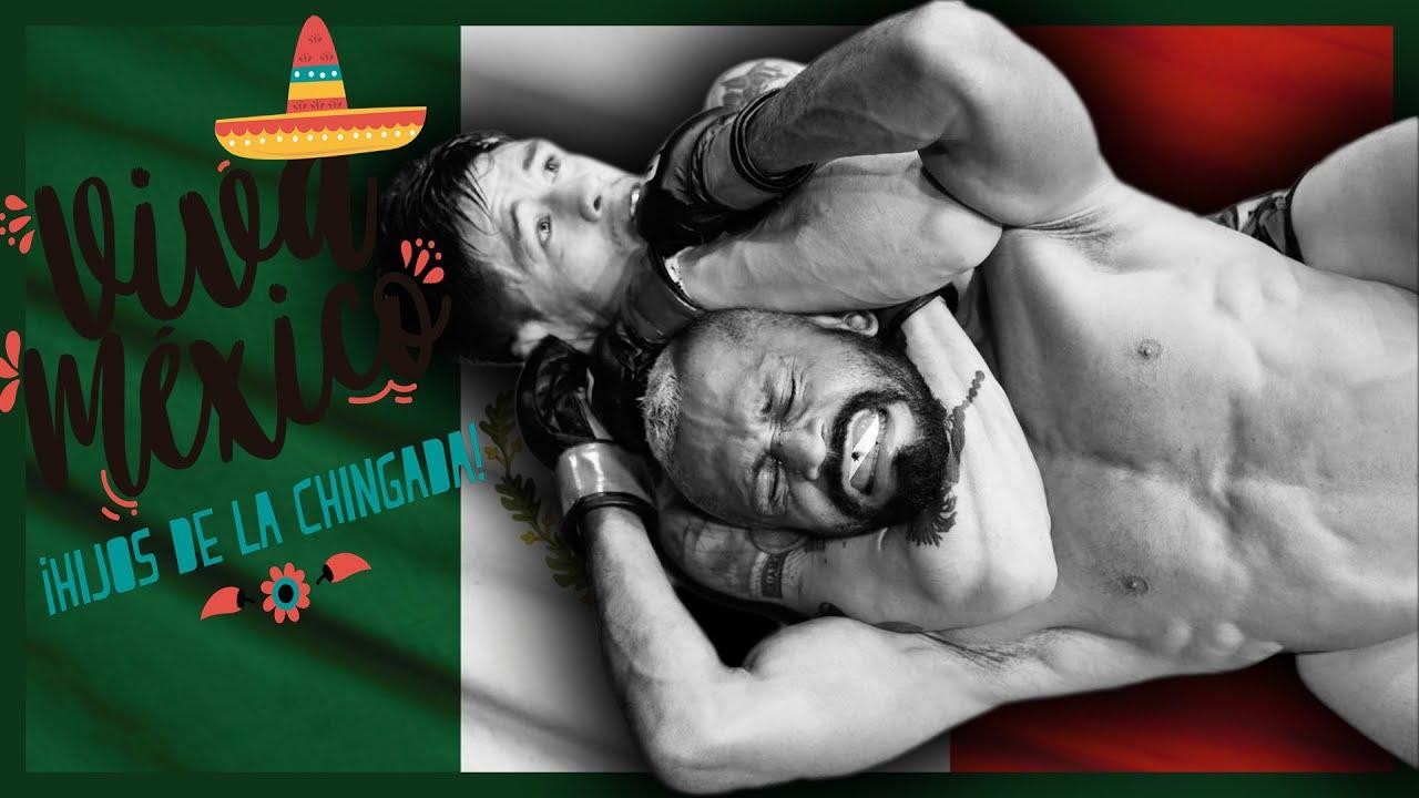 Brandon Moreno y QUE VIVA MÉXICO KBR0NES!!!
