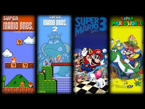 Super Mario Bros OST  All Overworld Theme