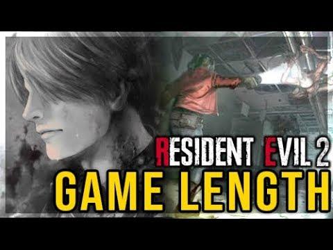 Resident Evil 2 Remake - Game Duration Analysis