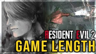 Resident Evil 2 Remake - Game Duration, Analysis