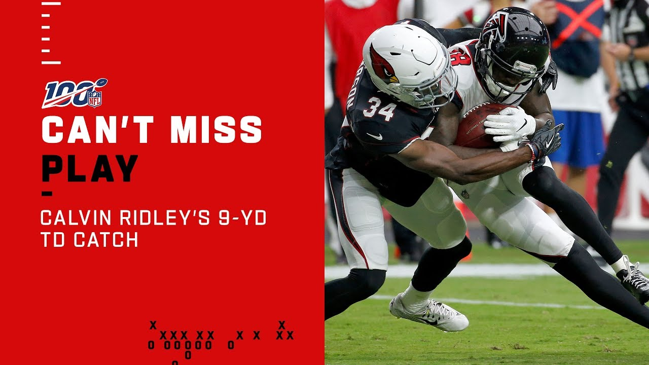 Calvin Ridley Finishes Falcons Drive W 9 Yd Td Youtube