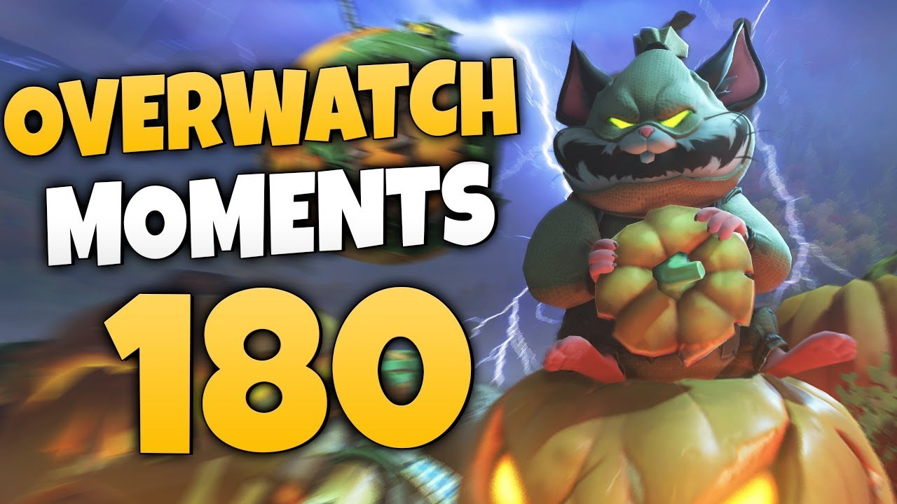 Overwatch Moments #180 Videosu