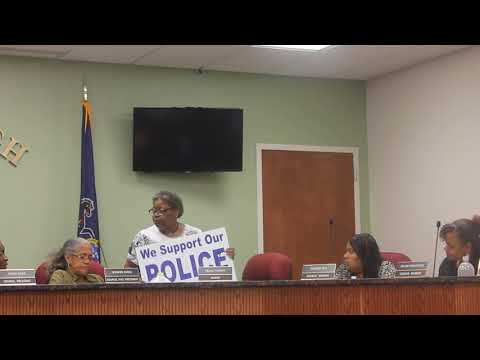 Darby Council Meeting 9-20-17 - Mayors Report Helen Thomas