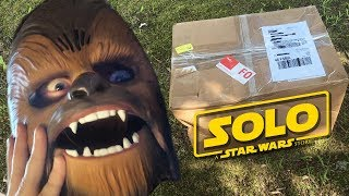 Unboxing a Star Wars SOLO Movie Package from Disney!