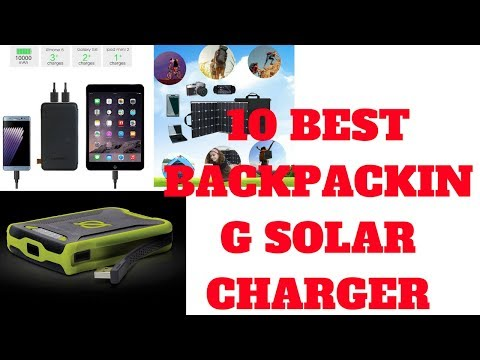 Top 10 Best backpacking solar charger