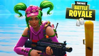 FORTNITE-FIRST TIME with GIRL'S SKIN!!! (EPIC)