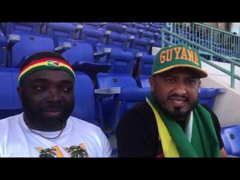 Fans Of Guyana On Bermuda Game, June 6 2019