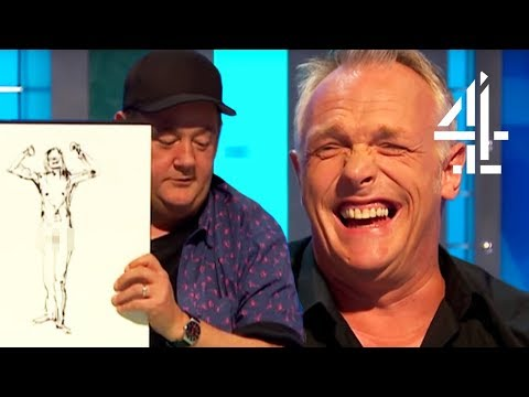 Johnny Vegas Is VERY Good At Drawing Naked People  8 Out Of 10 Cats Does Countdown Best Bits Pt. 6