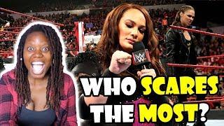 Nia Jax teasing Ronda Rousey (Reaction)   Jennifer MoOrue